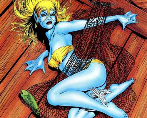 Namorita Blue Skin