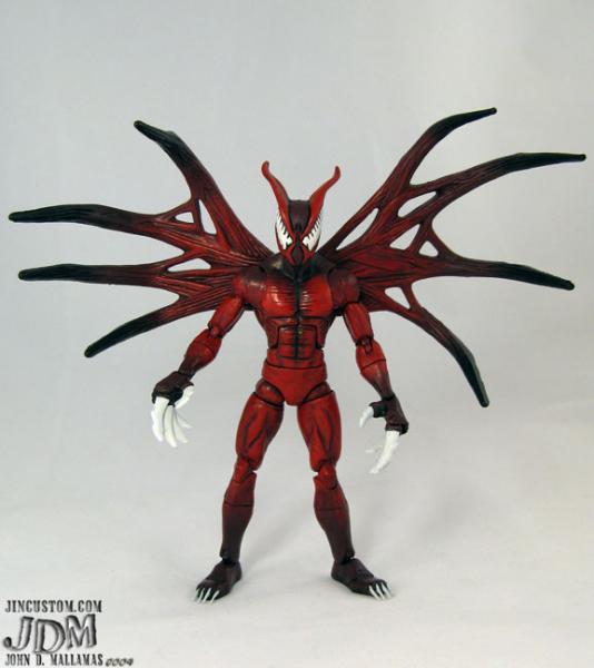 Hybrid Marvel Venom Symbiote Action Figure