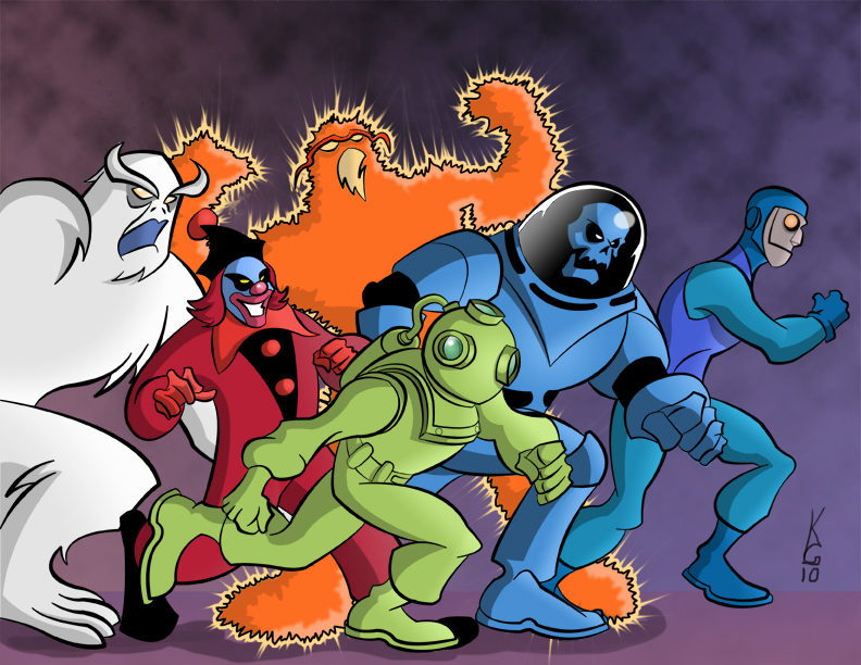 ON THE RUN: This image by Kevin Gentilcore (http://kevingentilcore.deviantart.com/) comes close to what COTB is dreaming of -- A handbook of the Scooby-Doo cases. Visit http://kevingentilcore.deviantart.com/ for info on commissions!