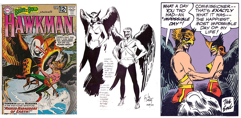 Hawkman by Kubert