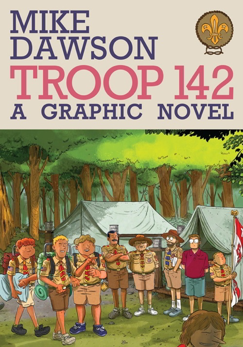Troop 142 Revew Graphic novel by Mike Dawson