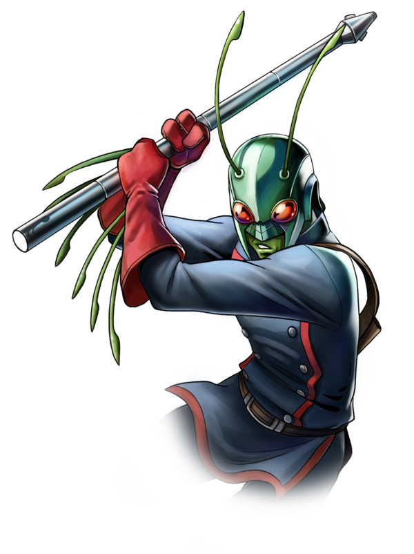 Bug signed up with the Guardians of the Galaxy after a long absence from the Marvel Universe. Image courtesy of http://fan-the-little-demon.deviantart.com/