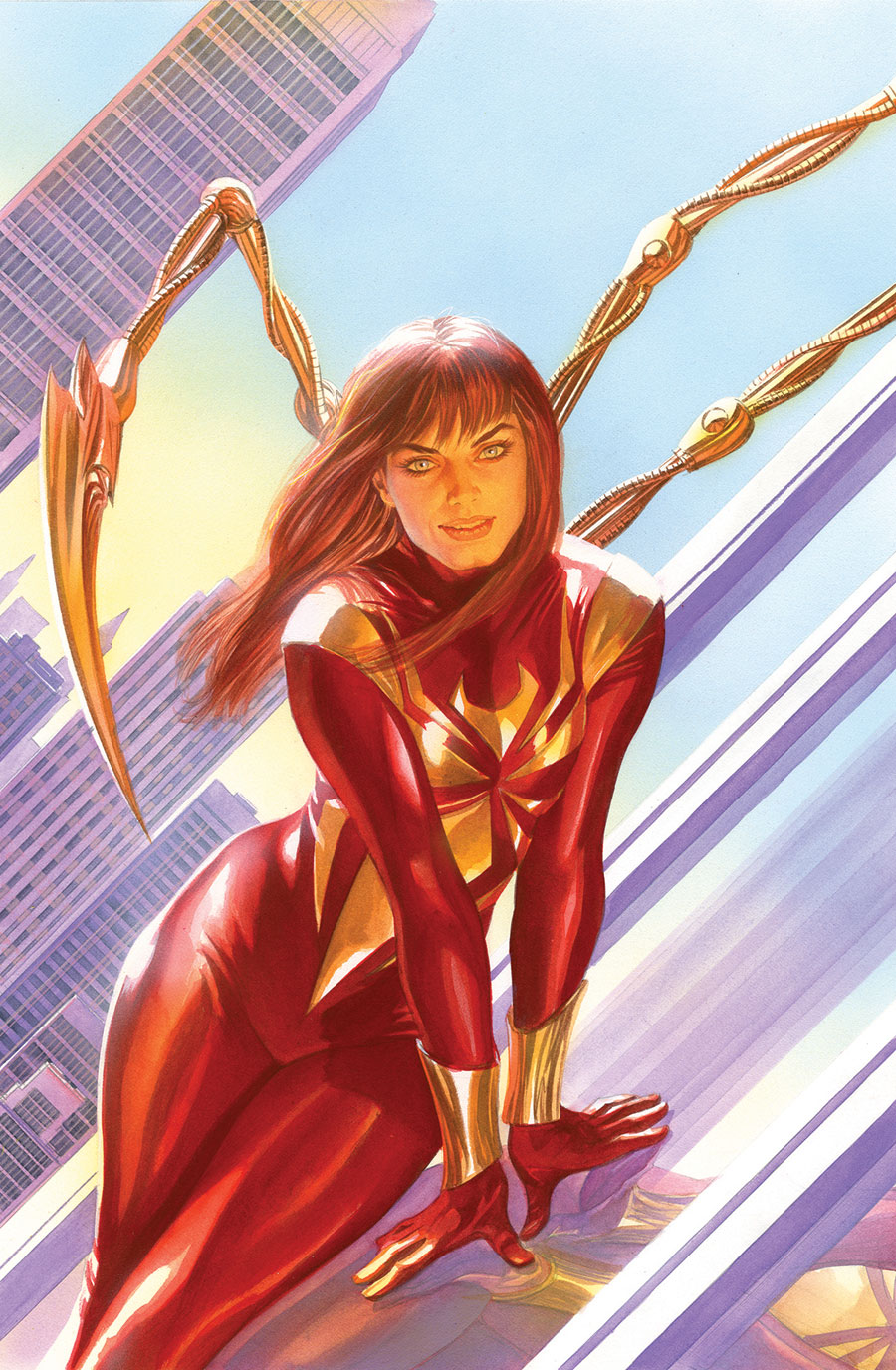 Mary Jane as Iron Spider