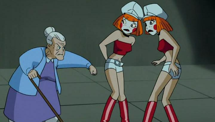 Harley Quinn and her granddaughters! Dee Dee and Dee Dee