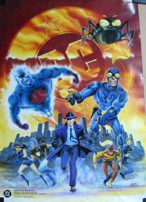 Charlton characters come to DC poster