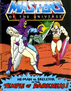 He-Man Mini Comics