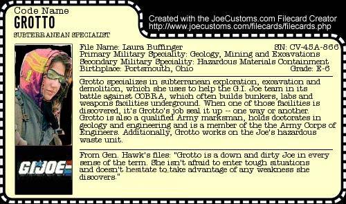 Grotto G.I. Joe Cobra