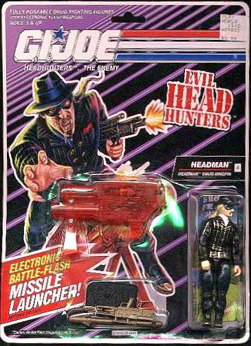 G.I. Joe Cobra Headman Drug Dealer
