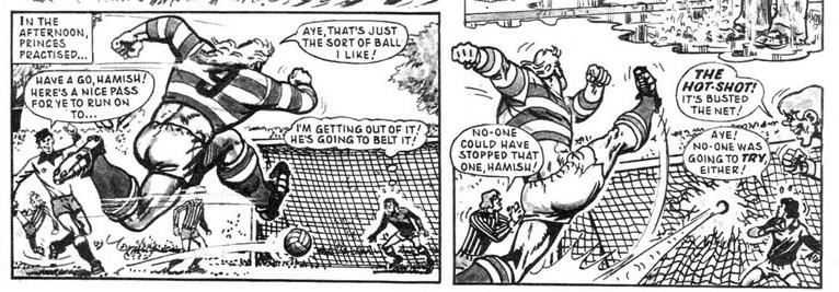 World Cup Comics: Hot Shot Hamish hits the pitch