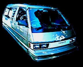 Men in Black Hover Van