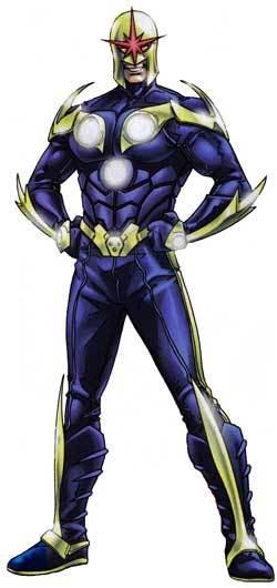 Nova of Earth Marvel