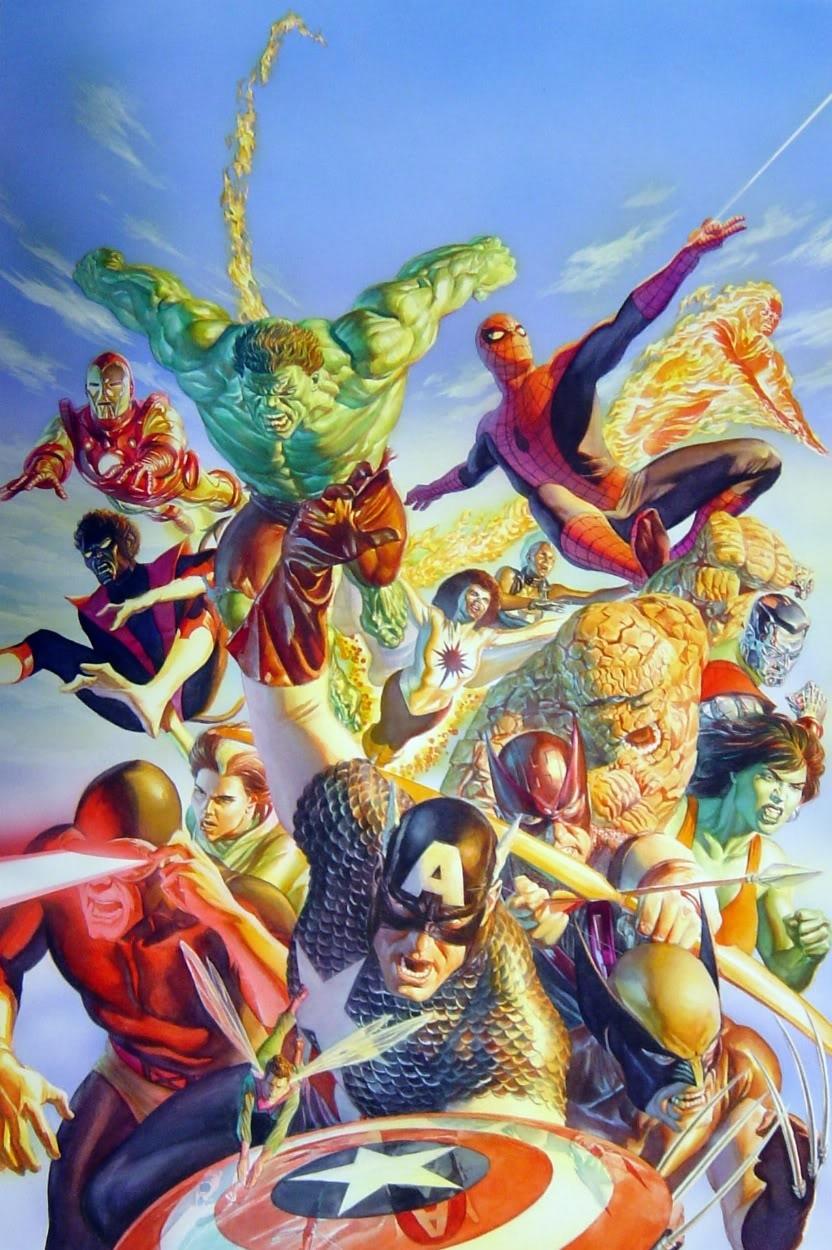 Marvel Unviverse Secret Wars