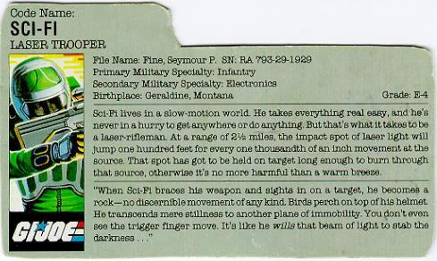 Sci Fi Filecard