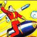 Captain Marvel Bullet Ride
