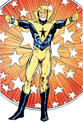 Booster Gold Time Traveling DC Hero