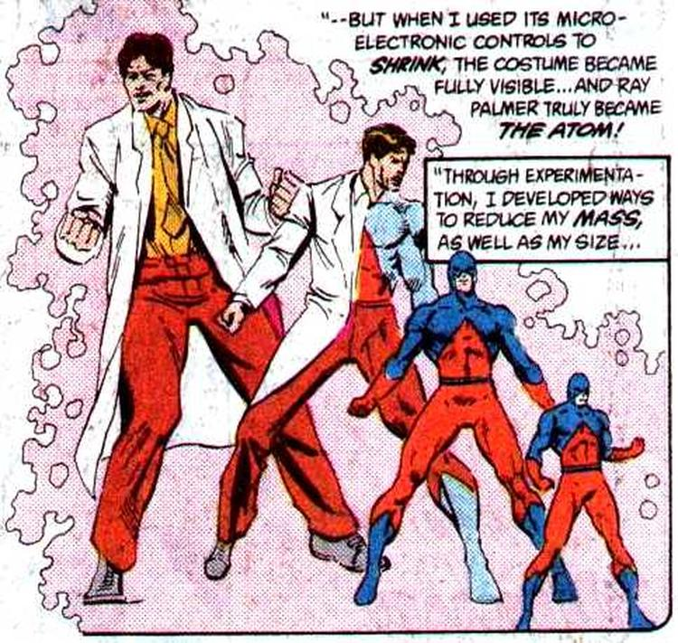 Ray Palmer The Atom How to Get Superpowers